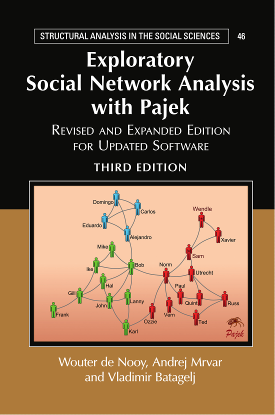 Exploratory Social Network Analysis with Pajek: Revised and Expanded Edition for Software Update. Third Edition.